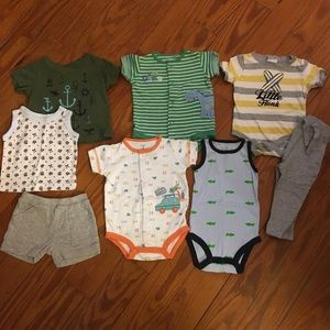 Baby Boy Mixed Bundle of 3 Months Clothes